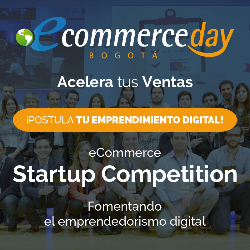 eCommerce Startup Competition: abierta la convocatoria para emprendimientos digitales colombianos